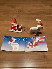 Lego 1628 Reindeer Santa Sleigh Set - 100% Complete, Cleaned, Christmas Legos