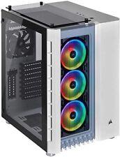 CORSAIR Crystal 680X RGB Computer Case - White