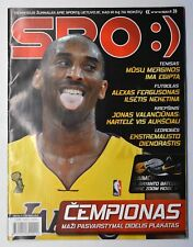 SPO:) Lithuanian Sports Magazine NBA Kobe Bryant