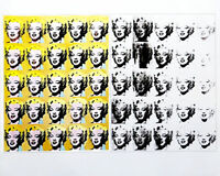 Andy WARHOL 50 Marilyns Pop Art Offset Lithograph 22 x 27