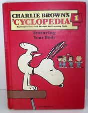 Charlie Brown 'Cyclopedia Body Questions Answers Facts Vol 1 1980 HB Children