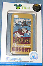 Disney MICKEY MOUSE Disneyland Resort 4 / 4S Cell Phone Case LIMITED iPhone  NEW