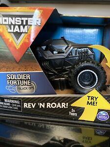 Monster Jam Rev N Roar Soldier Of Forturne Black Ops
