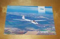LET of Czech Republic L 33 SOLO SINGLE SEAT GLIDER INFORMATION SHEET Feb 1998