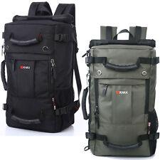 Unisex Waterproof Backpack Travel Bags Rucksack Schoolbag Carry On Shoulder Bags