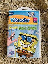 NEW VTECH V.READER SPONGEBOB SQUAREPANT MODEL SPONGE AGE 5-7