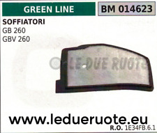 1E34FB61 FILTRO ARIA SOFFIATORE GREENLINE GREENCUT GB GBV 260