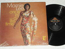 MAMIE LEE-Once In A Lifetime (1966) Mono MGM LP *Still In Shrink*