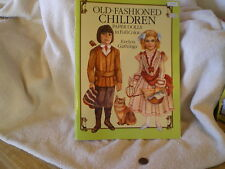 """""""Old Fashioned Children"""" Paper Dolls, Dover Publications, 1989, E Gathings"""