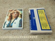 1981 Topps Dallas Cowboys Cheerleaders Near Complete Set 29/30 With Wrappers
