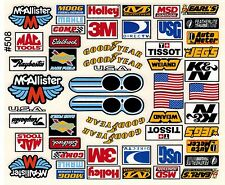 Detail Decals for RC Cars, Sprints, Late Models, Stock Cars, Dirt Oval, Sponsors