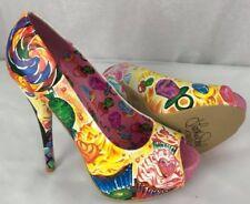 Latisha Wood women's shoes Iron fist sweets for my sweet multi peptones size 8