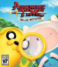 NEW Adventure Time: Finn and Jake Investigations (Microsoft Xbox One, 2015)
