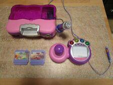 VTech - V.Smile rosa mit 2 Spielen und Controller