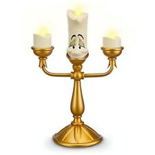 Disney Parks Beauty & Beast LUMIERE Light Up Candle Candelabra Figurine