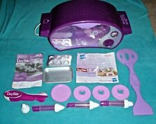 EASY BAKE OVEN 2010 PURPLE WITH ULTIMATE CAKE DECORATING PEN KIT AND TIPS