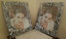 Picture Frame 8x10 Silver Baby Kid Set of 2