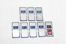 SONY SXS 8GB 3 pcs  16GB 4 pcs SANDISK 16 GB 1 pcs complete