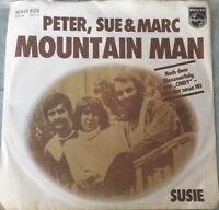 Peter, Sue & Marc - Mountain Man/Susie (1977) Vinyl Guter Zustand