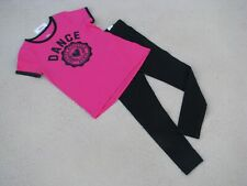 """Justice Nwt Girls Sz 12 Outfit - """"Dance"""" - Glitter - So Cute!"""