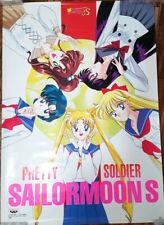 Sailor Moon - S Banpresto Poster #18 - Inner Girls Group - Japan 1994 - 20x28