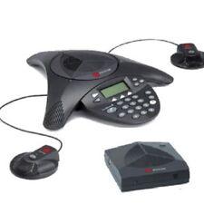 NEW POLYCOM SOUNDSTATION 2W SOUNDSTATION2W EX Wireless Phone+ 2x Ext MICs