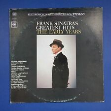 FRANK SINATRA Greatest Hits The Early Years CS9274 LP Vinyl VG++ Cover VG+