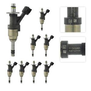 Set of 8 ACDelco Fuel Injector 12623116 For Chevrolet GMC Silverado 1500 14-21