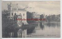 (93544) AK Hamburg Uhlenhorst, Villen am Feenteich 1910
