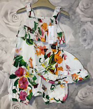 Girls Age 12-18 Months - BNWTS Lola Maverick Play Suit & Hat Set