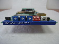 SNELL & WILCOX IQD1ADC COMPONENT TO SDI CONVERTER CARD WITH REAR MODULE*