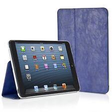 Xtrememac Microfolio Blue Distressed Leather Folio Case for iPad Mini & Retina