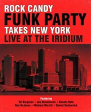 """ROCK CANDY FUNK PARTY - TAKES NEW YORK """"LIVE"""": BLU-RAY/2CD SET (Feb 24th, 2014)"""