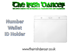 IRISH DANCING NUMBER HOLDER / FREESTYLE DANCE COMPETITION NUMBER HOLDER