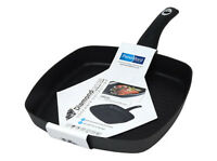 28 cm  I-COOK Square Grill / Griddle Pan for all hobs including induction