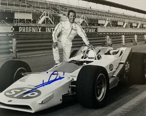 MARIO ANDRETTI HAND SIGNED 8x10 PHOTO INDY 500 NASCAR AUTOGRAPH AUTHENTIC