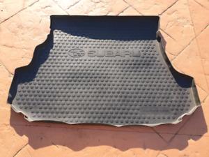 2003 - 2007 Genuine Subaru Forester Rubber Cargo Tray/Boot Mat