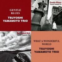 TSUYOSHI YAMAMOTO TRIO-GENTLE BLUES / WHAT A WONDERFUL WORLD-JAPAN 2 CD