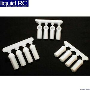 RPM R/C Products 73381 Heavy Duty Rod Ends White (12)
