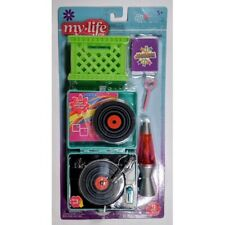 My Life As All American Girl Doll Retro Play Set, Record Player, Lava Lamp *NEW*