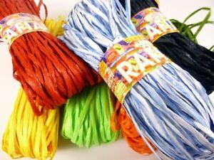 Adriafil Rafia 100% Pulp Wood Knitting Yarn   Range of Shades