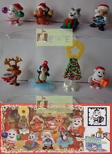 Set CHRISTMAS PARTY + 8 paper, kinder surprise Germany