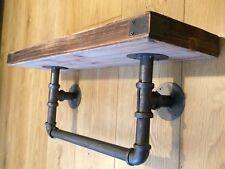 SHELF Pipe Industrial Wood Metal Wall Mountable Storage Shelving Shelf **NEW**