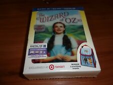 The Wizard Of Oz (Blu-Ray/3D Target Exclusive) Lenticular Case W/Lunch bag NEW