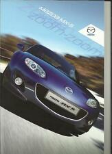 MAZDA MX-5 SOFT TOP AND ROADSTER COUPE SALES BROCHURE MAY  2011
