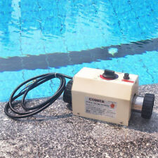 220V 3KW Electric Water Heater Swimming Pool SPA Bath Thermostat , EU PLUG