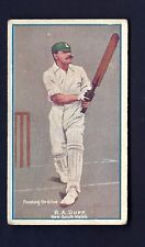 SNIDERS & ABRAHAMS - CRICKETERS IN ACTION - R A DUFF, NEW SOUTH WALES