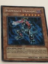 YuGiOh MC2-EN005 Blowback Dragon Secret RARE Promo Card