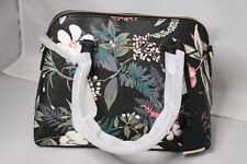 Kate Spade New York Cameron Street Botanical Maise Satchel/Bag - Black Multi