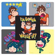 "25 Wreck-It Ralph 2 Stickers (Ralph Breaks The Internet), 2.5"" x 2.5"" Each"